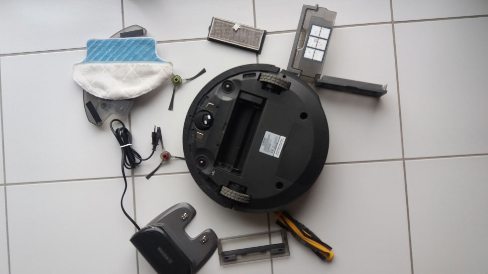 aspirateur robot deebot-r95-déballé