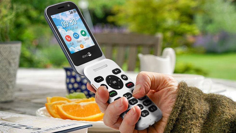 téléphone portable pour les seniors